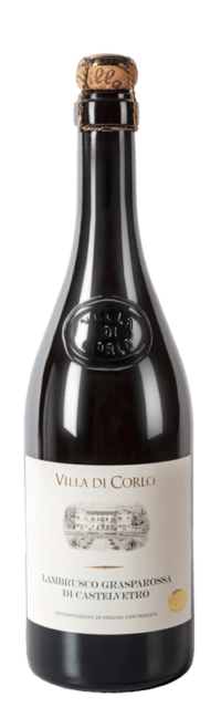 Lambrusco Grasparossa di Castelvetro Dry DOC bottle