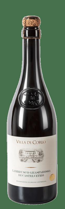 Lambrusco Grasparossa di Castelvetro Dry bottle