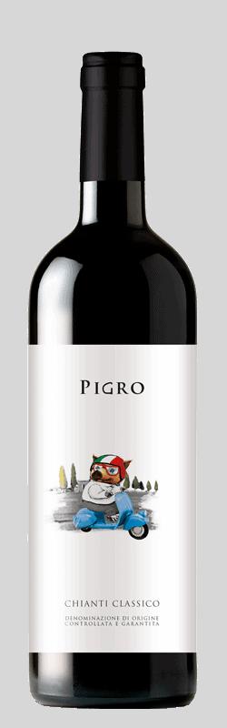 Chianti Classico  bottle