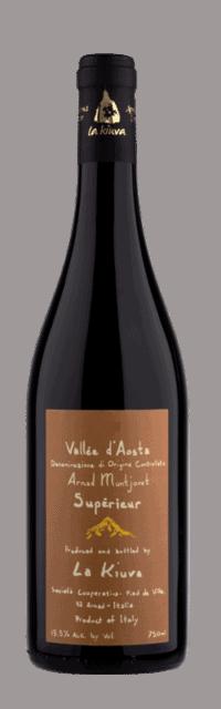 Arnad-Montjovet Supérieur Valle d'Aosta DOC bottle