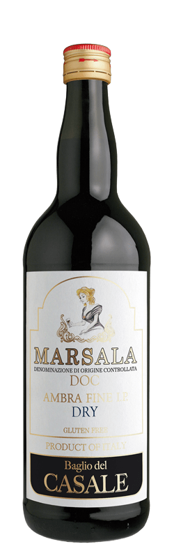 Marsala DOC Ambra Fine I.P. Dry bottle