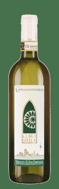Clara Stella Vernaccia di San Gimignano DOCG bottle