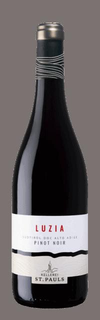 Luzia Pinot Nero Alto Adige DOC bottle