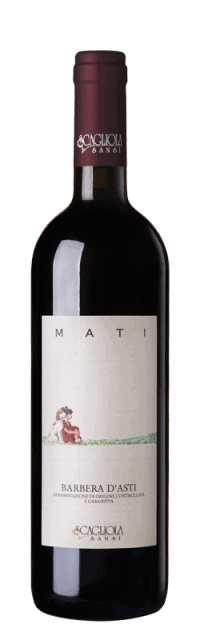 Mati Barbera d'Asti DOC bottle