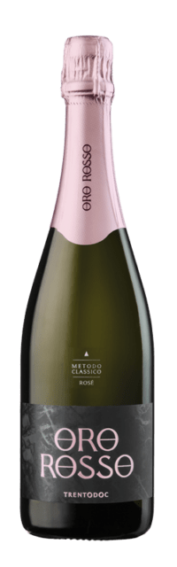 Brut Rosé Trento DOC Metodo Classico - Bottle Fermented bottle