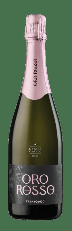 Brut Rosé Trento DOC bottle