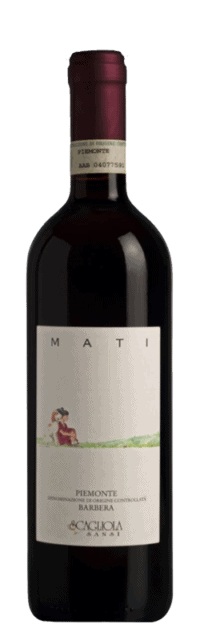 Mati Barbera Piemonte DOC bottle