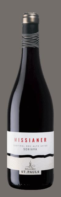 Missianer Schiava Alto Adige DOC bottle