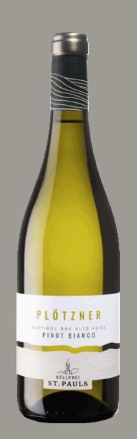Plötzner Pinot Bianco Alto Adige DOC bottle