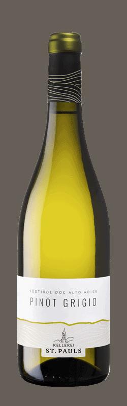 Pino Grigio  bottle