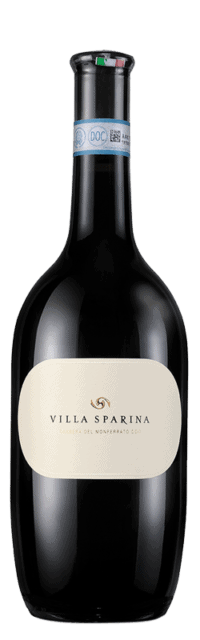 Barbera  del Monferrato DOC bottle