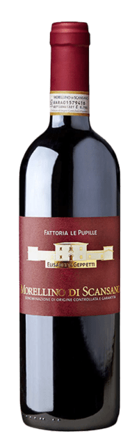 Morellino di Scansano  DOCG bottle