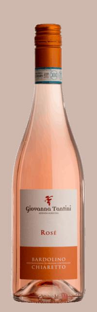Bardolino  Chiaretto DOC bottle