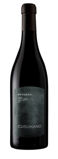 Benuara Terre Siciliane IGT bottle