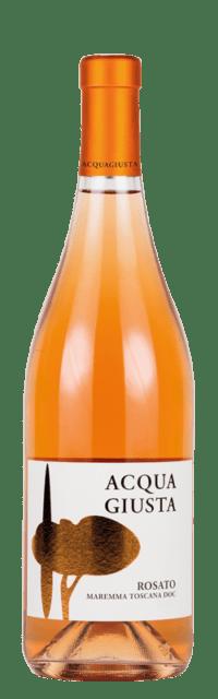 Acquagiusta Rosato Maremma Toscana DOC bottle