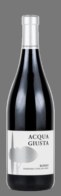 Acquagiusta Rosso Maremma Toscana DOC bottle