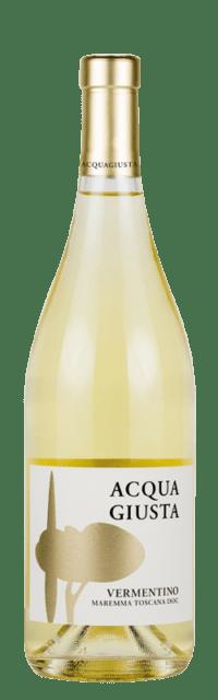 Acquagiusta Vermentino Maremma Toscana DOC  bottle