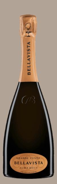 Alma Gran Cuvée Brut  Franciacorta DOCG  bottle