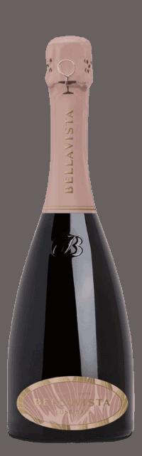 Rosé Vintage Brut  Franciacorta DOCG bottle