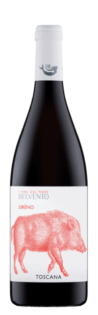 Sireno Toscana Rosso IGT bottle