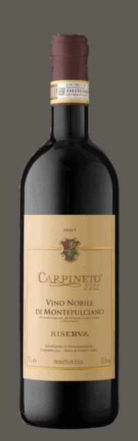 Vino Nobile di Montepulciano Riserva DOCG  bottle