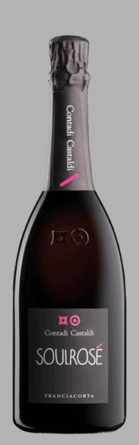 Soul Rosé Brut Franciacorta DOCG bottle