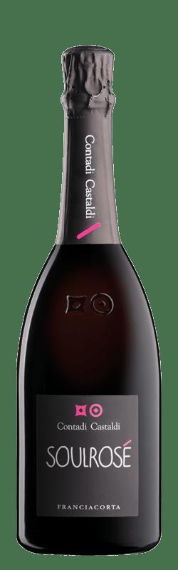Soul Rosé Brut bottle