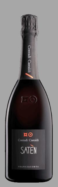 Satèn  Franciacorta DOCG bottle