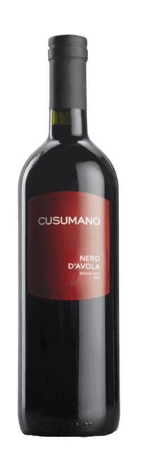 Nero d'Avola  Terre Siciliane IGT bottle