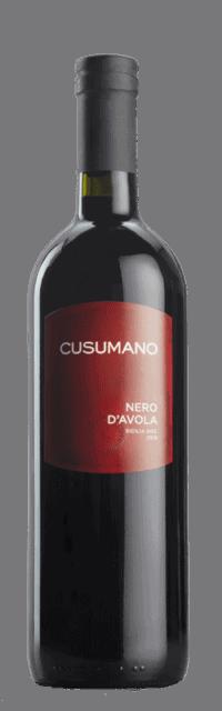 Nero d'Avola  Terre Siciliane IGT bottle