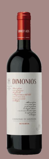 Dimonios  Cannonau di Sardegna Riserva DOC  bottle