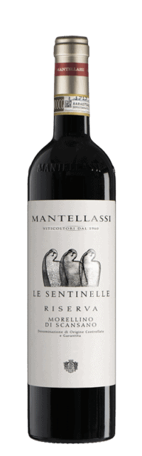 Le Sentinelle  Morellino di Scansano Riserva DOCG bottle