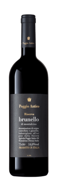 Brunello di Montalcino  Riserva DOCG bottle
