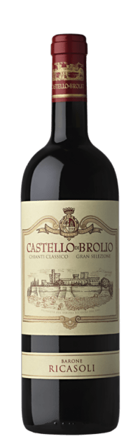 Castello di Brolio  Chianti Classico DOCG Gran Selezione  bottle