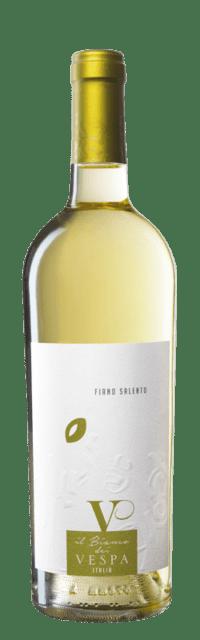 Il Bianco dei Vespa Fiano Salento IGP bottle
