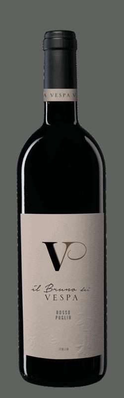 Il Bruno dei Vespa bottle