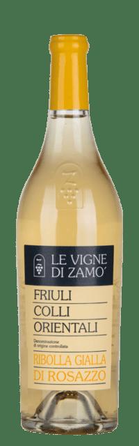 Ribolla Gialla di Rosazzo  C.O.F. DOC bottle