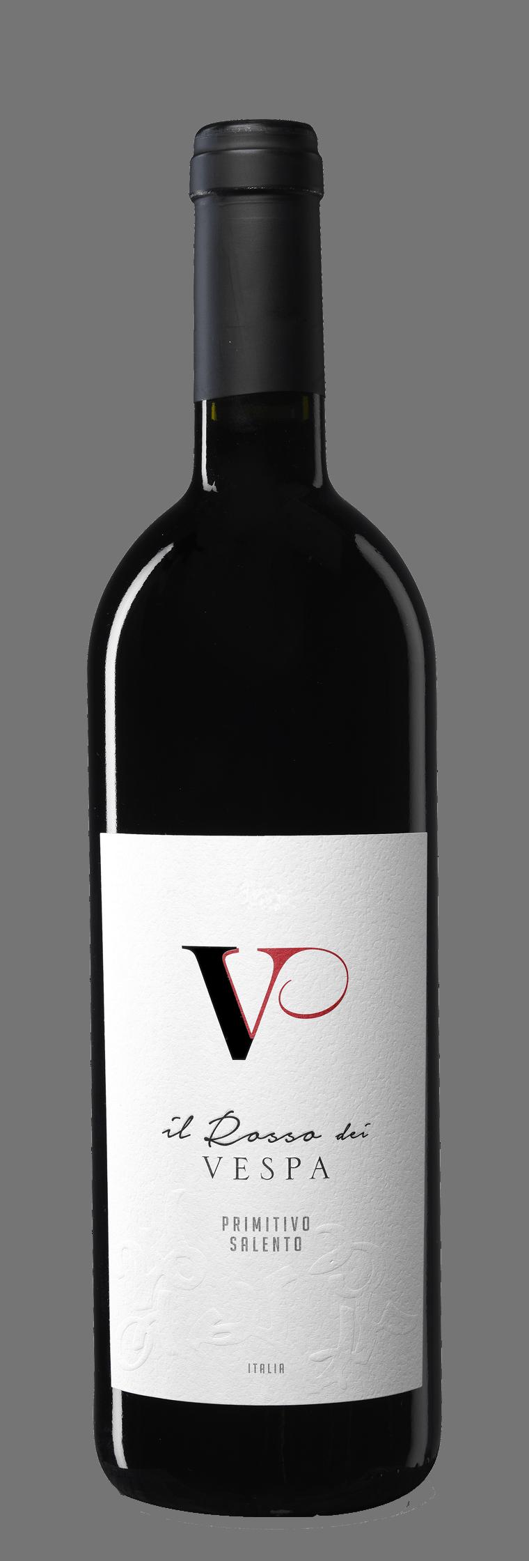 Il Rosso dei Vespa bottle