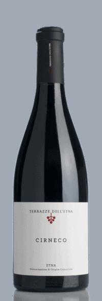 Cirneco Rosso Etna DOC bottle