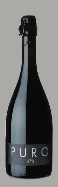 Puro Brda Suho Kakovostino Peneče Vino ZGP bottle