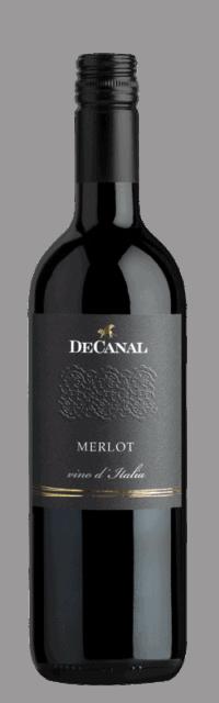 Merlot Vino d'Italia bottle