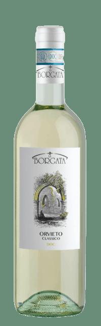 Orvieto Classico DOC bottle