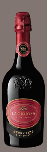 Berry Fizz Semi Sweet Sparkling bottle