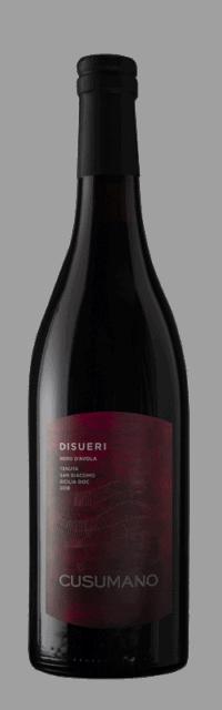 Disueri Nero d'Avola Sicilia DOC bottle