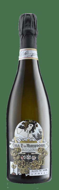 Alta Langa Blanc de Noir bottle