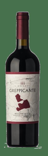 Greppicante Bolgheri Rosso DOC bottle