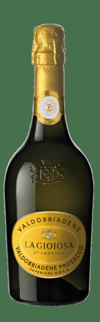 Valdobbiadene Prosecco Superiore  DOCG Extra Dry bottle