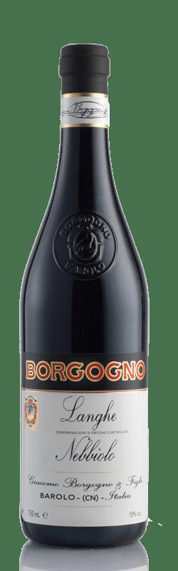 Langhe Nebbiolo DOC bottle