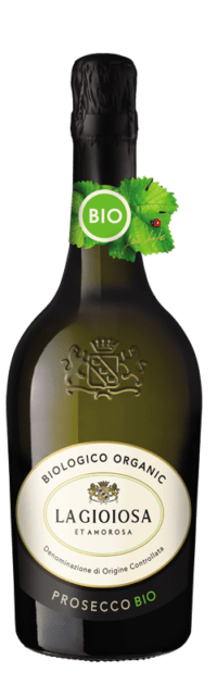 Prosecco Organic DOC bottle