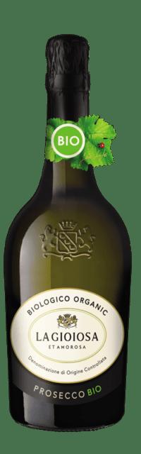 Prosecco Organic DOC bottle